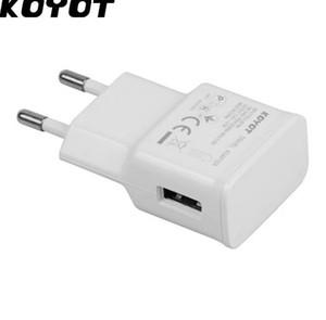 KOYOT EU plug Adapter 5V 2A Caricatore da muro USB Caricabatterie per cellulare per Samsung Galaxy S5 S6 Note4 N9000 Fast Carica rapida