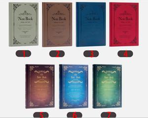 고전 마법 디자인 저널 도서 일기 노트 학교 학생 사무소 쓰기 종이 노트 책 선물 용품 편지지