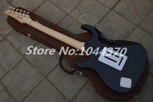 Free shipping top quality New IBZ JEM 7V Black Electric Guitar DiMarzio pickup In stock