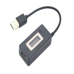 Usb2.0 voltímetro digital usb carregador de alimentação medidor de voltagem de exibição tensão atual e descarga usb resistência de carga cabo de teste de velocidade, pow