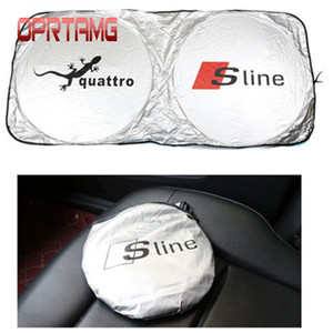Coche que enarbola parabrisas delantero del coche Accesorios del coche Sombrilla para Audi A6 C5 C6 A4 B6 B8 80 A1 A8 TT Q7 Q5 Q3 A3 A5 A7 S línea B5 B7