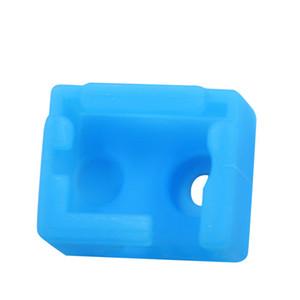 5шт силиконовый чехол для нагревателя блок высокотемпературный силиконовый чехол, пригодный для E3D V6 3D принтер частей теплый держать синий Shoft