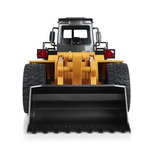 Eco-Friendly 1520 6ch Rc Auto 1/14 camion metallo Bulldozer ricarica Rtr remoto camion di controllo Costruzione di veicoli Cars For Kids giocattoli dei regali