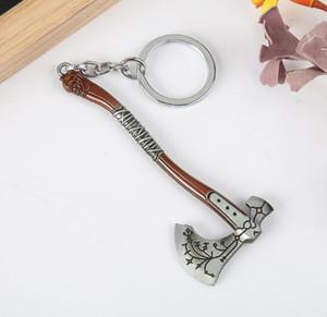 إله الحرب سلسلة المفاتيح ثور فأس إنفينيتي الحرب العالم المظلم مفتاح مكتشف كيرينغ مجوهرات اكسسوارات
