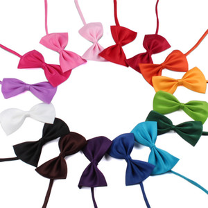 Fashion Adjustable Pet Dog Bow Tie Neck Accessory Necklace Collar Puppy Bright Color Pet Bowknot Tie