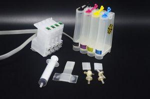 Sistema de tinta a granel de tanque de tinta 50 ml Para Epson C88 CISS, Cartucho de tinta barato barato T0601 T0602 T0603 T0604 CIS para impressora Epson C88 + CX5800