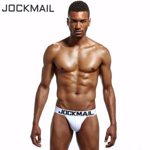 JOCKMAIL Brand 6PCS High Quality Cotton Classic basis mens bikini underwear cueca gay Sexy mens briefs calzoncillos hombre slips