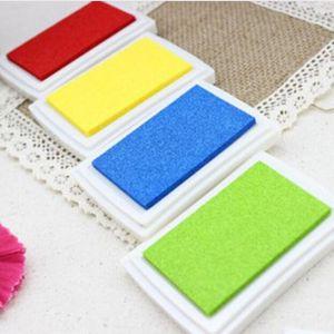 14 colors Craft Ink pad Colorful Cartoon Ink pad Ink stamp pad