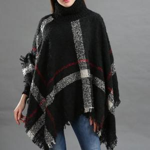 Automne et hiver Fashion Coller Collier Collier Chaudet Lâche Rapide Charmante Charmante Chareuse de la mode et de la peau