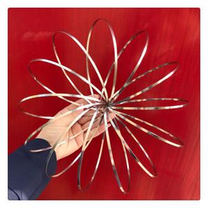 Anillo de flujo Kinetic Spring Toy Kinetic Educational Spring Toy Multi Sensorial interactivo en forma de anillo de flujo INMEDIATAMENTE ENTREGA
