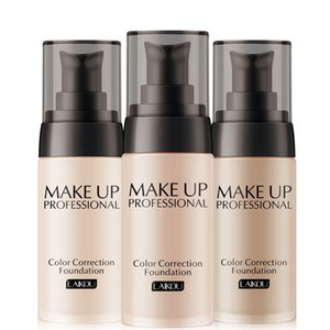 Base professionale Make Up Waterproof Matte Minerals 40ml Face Whitening Color Correction Fondotinta liquido per trucco