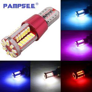Высокое качество T10 501 W5W 168 57 SMD LED 3014 авто Canbus ошибка бесплатно маркер лампы габаритные огни интерьер свет DC12V