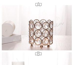 32Pcs / Lot, H7cm*W7cm, Free Ship, Glass Crystal Votive Candle Holder, Wedding Centrerpece Home Decoration