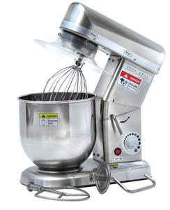 Misturador Elétrico Comercial Kitchen Aid Mixer Misturador de Aço Inoxidável Big Food Clássico Misturador de Massa Amassar 7L 220 V ~ 240 V CE Aprovação