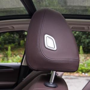 ABS сиденье подголовник подушки регулировки кнопки украшения блестки для BMW X3 G01 G08 2018 4 шт. аксессуары для интерьера автомобиля
