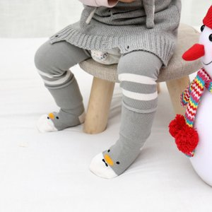 New Spring Baby Knee Pads + Sock-Suits Lovely Cartoon Infants I bambini imparano a camminare Extension Tube Matsuguchi Sock