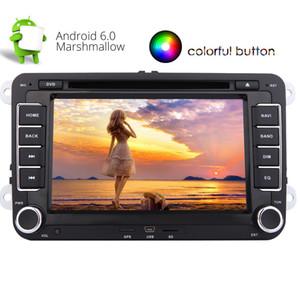 Eincar Android 6.0 Четырехъядерный процессор Double Din Car Stereo 7 '' Авто Радио Автомобильный DVD-плеер для Jetta Golf GPS Nav Mirror Link Wifi