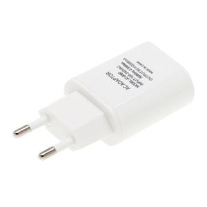 Nuevo enchufe de la UE Cargador USB 2A Europa Cargador universal de teléfono móvil Adaptador USB Cargador de pared para iPhone 5 6 7 6S Plus carga 50pcs / lot