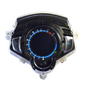 야마하 LC135에 대 한 오토바이 악기 LCD 디지털 게이지 속도계 타코미터 주행 7 색 디스플레이