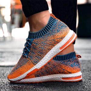 2018 NEw Sock Shoes Uomo Scarpe casual Moda maschile Scarpe da amante Scarpe da uomo Sneakers per Dropshipping, grossista