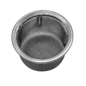 Stainless Steel Screens Tobacco Pipe For Crystal Smoking Pipes Use 13MM Screen Filters Metal Ball Promotion Combustion