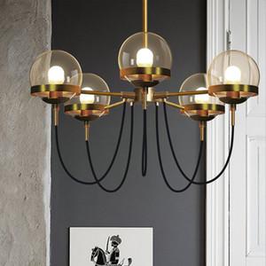 Lustre moderne Modo Jason Miller lampes suspendues boule de verre suspendu luminaires