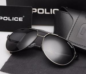 Moda óculos polarizados novos óculos de sol UV óculos de proteção high-end motorista 8480 óculos