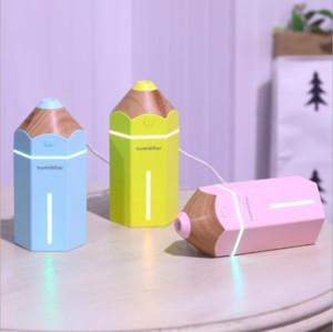 Neue Design Bleistift Luftbefeuchter Mini Desktop Luftbefeuchter Diffusor 230 ML USB Automatische Abschaltung Nebelmaschine Fogger Für Zuhause