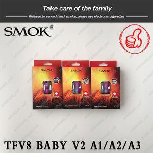 Оригинал SMOK TFV8 младенца V2 Катушки A1 A2 A3 Сердечники головки младенца V2 Замена катушки для TFV8 младенца V2 Форсунка Tank В НАЛИЧИИ