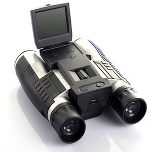 """1080P HD 디지털 망원경 카메라 (최대 32Gb TF 카드 메모리 포함) 사진 스냅 샷 이미지 비디오 녹화를위한 2.0 """"TFT LCD"""