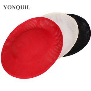 2017 mode 30 CM Fascinator Basis oval form 3 farben Sinamay hut braut hochzeit haarschmuck DIY Royal ascot hut party headwear material