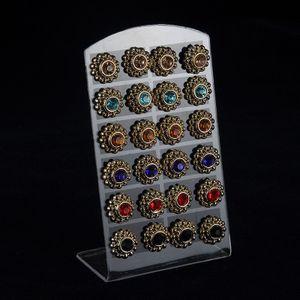 Il palazzo retrò orecchini di diamanti personalità moda europea e americana vento prugna petali orecchini orecchini accessori orecchini a bottone gioielli