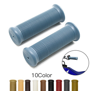 Universal available hot retro cafe racer parts 22MM 25MM rubber motorbike grip for yamaha moto handlebar motorcycle handle grips
