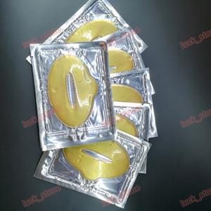 no logo Women Gold Collagen Protein Crystal Moisturizing Lip Film for Winter Crystal Collagen Lip Mask Collagen protein Vitamin E