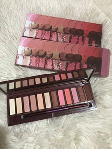 Makeup Makeup Makeup Cherry Blush Palette 12 Shadow с кистью Матовая палитра Shaylight Shades Bronzers Free UHPSO