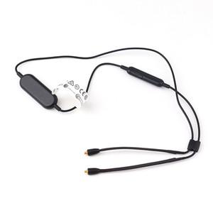Newest Bluetooth Cable RMCE-BT1 Wire REMOTE + MIC MUSIC Calls Black Legendary Performance 0.82m for SE535 SE425 SE315 SE215 SE846 SE215M+