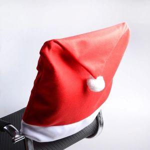 Рождество крышка стула нетканый стул задняя крышка Рождество украшения дома Снежинка съемный моющиеся стулья крышка 65*50 см