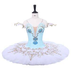 Vestidos de ballet tu tu tutu profesional azul blanco Bird Phantasy Raymonda Le Corsaire