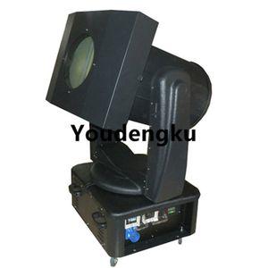 2000 Вт Наружный Sky tracker проектор открытый луч света поиска вращающийся 7 цветов открытый небо прожекторы с кейс