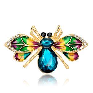 Broche insecte abeille broche épinglette collier de bijoux de mode Broche abeille émail coloré
