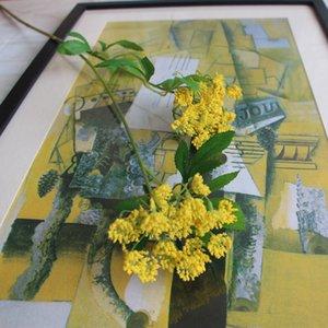 Cadılar bayramı Noel Yapay 2 Kafaları Danteller Çiçekler Ipek Çiçekler Yapay Bitkiler Düğün Ev Partisi Dekorasyon Aksesuar Çiçekler Için