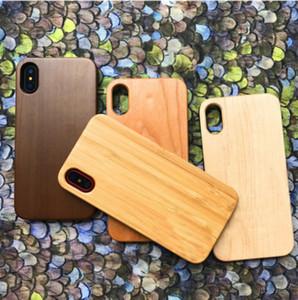 Hersteller preis mode holz telefon case für iphone 8 plus 7 6 6 s x 10 smartphone abdeckung natürliche bambus holz handy case für samsung