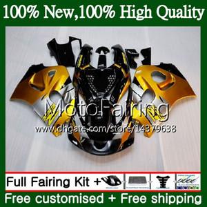 Vücut Altın GSXR-600 SUZUKI SRAD GSXR750 GSXR600 için 96 97 98 99 00 5HM2 GSX R600 GSXR 600 750 1996 1997 1998 1999 2000 Fairing Karoser