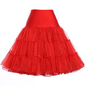 Tutu Saia Silps balanço Rockabilly Petticoat Underskirt Crinolina pettiskirt fofo para o Casamento De Noiva Retro Do Vintage Das Mulheres Saias Vestido
