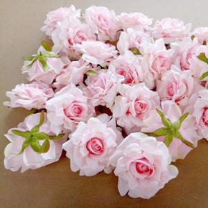 11Pcs Artificial Flowers Head 10cm para la decoración de la boda DIY Guirnalda Caja de regalo Floral Simulación de seda falsa Cabezas de flores