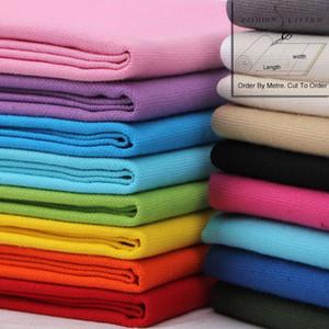 150cm Breite Heavy Duty aus reiner Baumwolle Ente Leinwandgewebe Solid Color Startseite Dekorative Fashion Bag Craft Blau, Grün, Lila Schwarz-Tuch