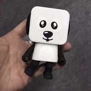 휴대용 무선 블루투스 음악 댄스 로봇 개 스피커 스테레오 슈퍼베이스 스피커 무료 배송