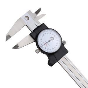 Freeshipping Dial Caliper 0-150mm  0.02 Gauge Stainless Steel Shock-Proof Vernier Calipers Micrometer Measuring Tools