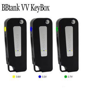 Neue Version 100% Original BBtank VV Key Box 2.6 3.1 3.6 Einstellbare 350mAh USB-Keybox-Batterie für 510 Patronen