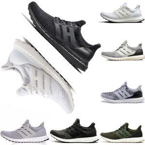 Adidas Ultra boost  3.0 4.0  triplo preto branco oreo azul mens mulheres running shoes sneaker para homens shoes sports sneakers frete grátis
